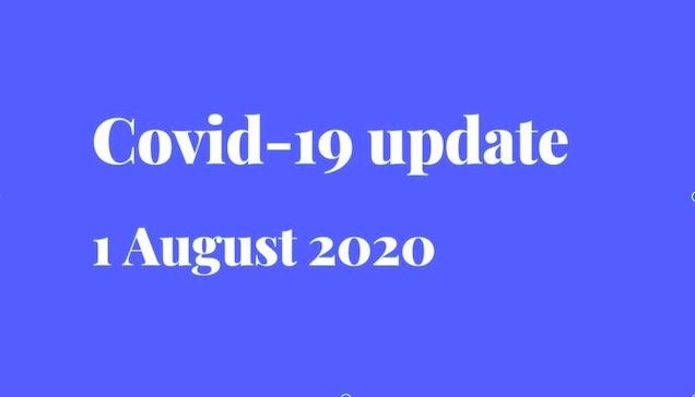 Covid-19 update - testing