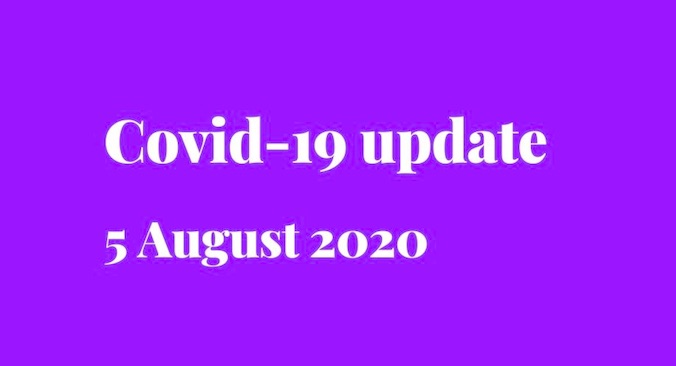 Covid-19 update - new testing location