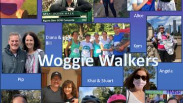 Woggie Walkers walk Walktober